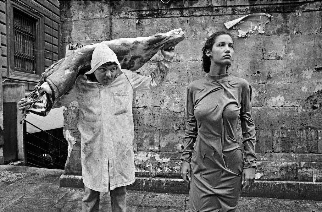Marpessa à Palerme, 1987. © F. Scianna